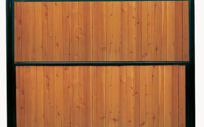 Séparation en bois
