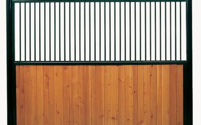 Séparation bois/grille
